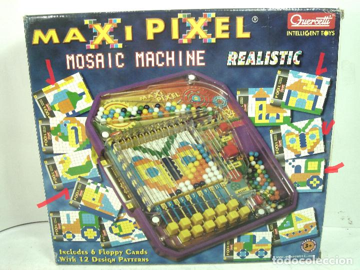 Puzzles: DIVERTIDO JUEGO DE COLORES- MAXI PIXEL QUERCETTI + CAJA - MAXIPIXEL -MONTAJE PUZLE - Foto 9 - 128478015