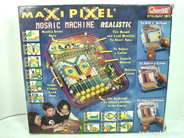 Puzzles: DIVERTIDO JUEGO DE COLORES- MAXI PIXEL QUERCETTI + CAJA - MAXIPIXEL -MONTAJE PUZLE - Foto 11 - 128478015