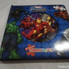 Puzzles: MARVEL-HEROES-LIBRO PUZZLE-COMPLETO. Lote 128495903