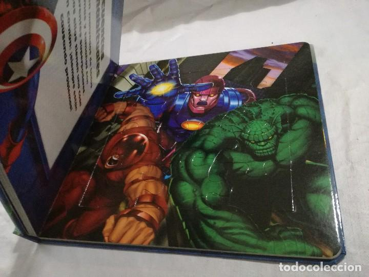 Puzzles: marvel-heroes-libro puzzle-completo - Foto 4 - 128495903