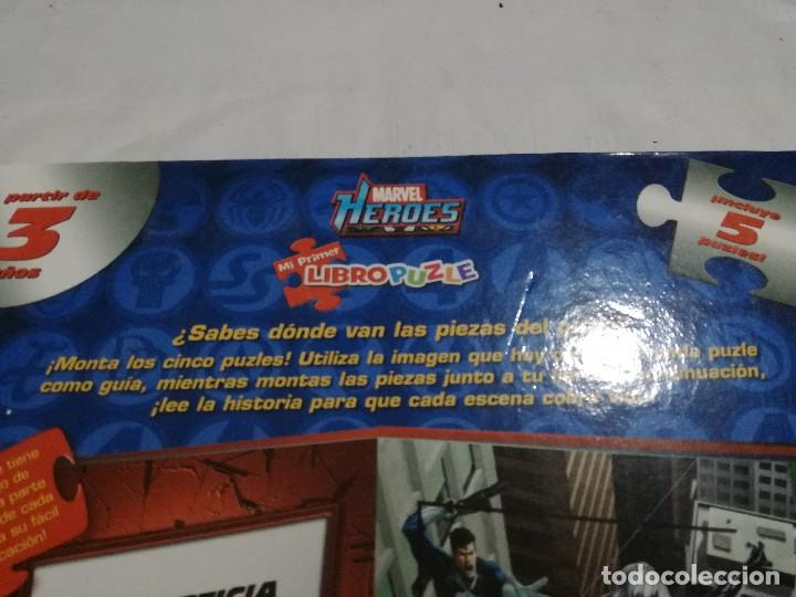 Puzzles: marvel-heroes-libro puzzle-completo - Foto 8 - 128495903
