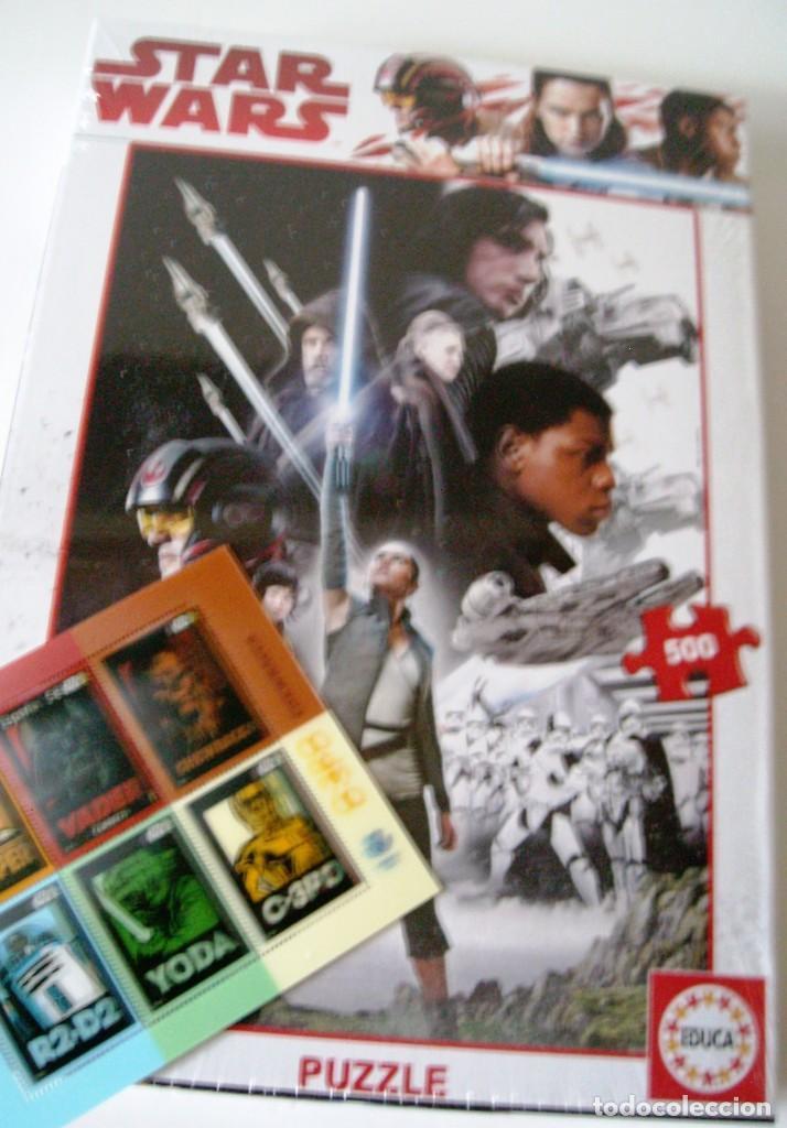Puzzles: STAR WARS - Puzzle 500 piezas - Correos/Educa - Foto 2 - 129296987
