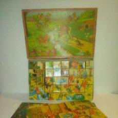 Puzzles: ANTIGUO PUZZLE ROMPECABEZAS DE CUBOS. Lote 130220523