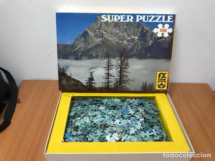 ANTIGUO PUZZLE SÚPER PUZZLE (Juguetes - Juegos - Puzles)