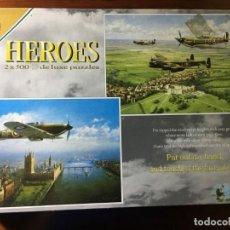Puzzles: 2 PUZLES DE 500 PIEZAS DE AVIONES HEROES DE FALCON. Lote 130521730