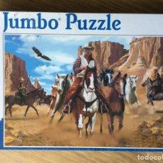 Puzzles: PUZLE VAQUEROS OESTE DE 1500 PIEZAS DE JUMBO. Lote 207874785