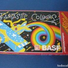 Puzzles: PUZZLE FANTASTIC COLOURS (BASF) COMPLETO. Lote 130618618