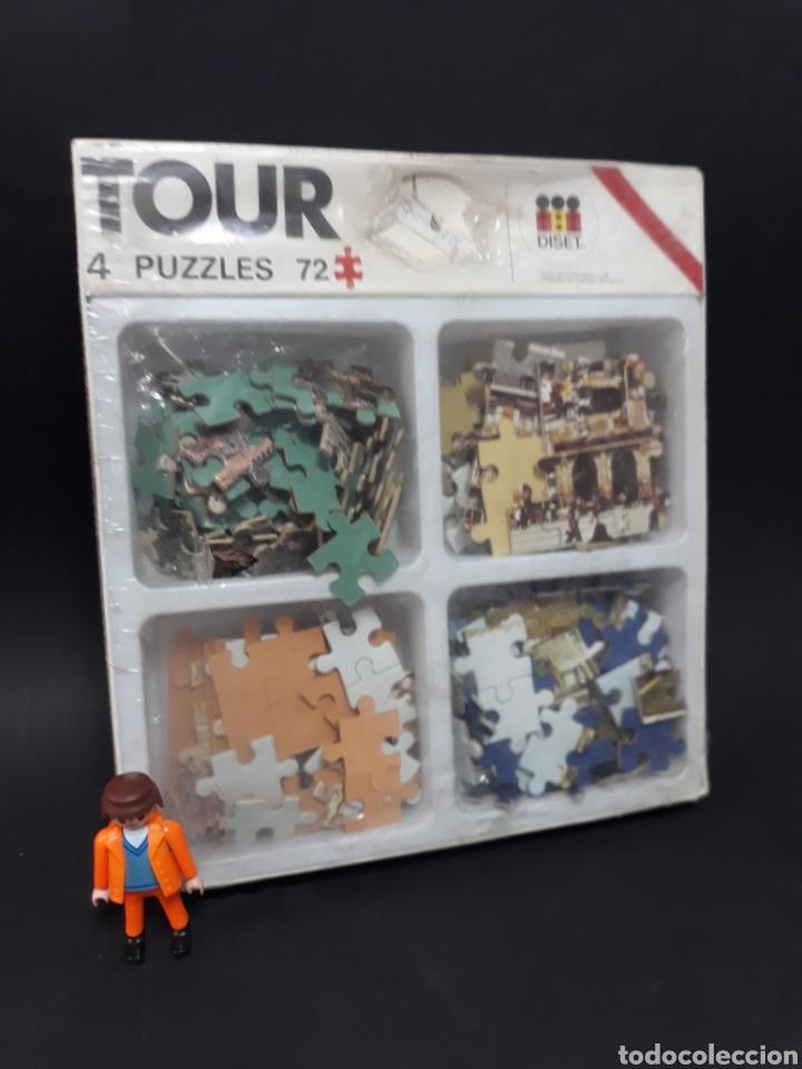 PUZZLES PUZZLE DISET 4 POR 72 PIEZAS (Juguetes - Juegos - Puzles)