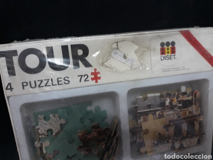 Puzzles: Puzzles puzzle DISET 4 por 72 piezas - Foto 3 - 131604521
