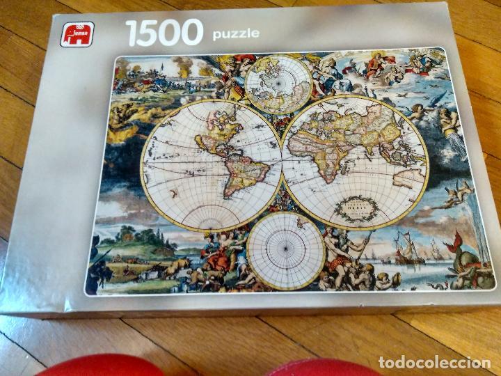 PUZZLE MAPA MUNDI 1500 PIEZAS DE JUMBO 90X60 CM (Juguetes - Juegos - Puzles)