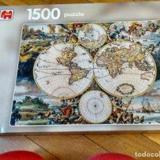 Puzzles: PUZZLE MAPA MUNDI 1500 PIEZAS DE JUMBO 90X60 CM. Lote 131680958