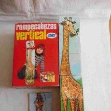 Puzzles: M69 JUEGO ROMPECABEZAS VERTICAL JMT. AÑOS 70.. Lote 131843470