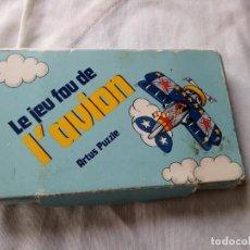 Puzzles: LE JEU FOU DE ´AVION ARTUS PUZZLE,1980,COLECCIONABLE.. Lote 131949102