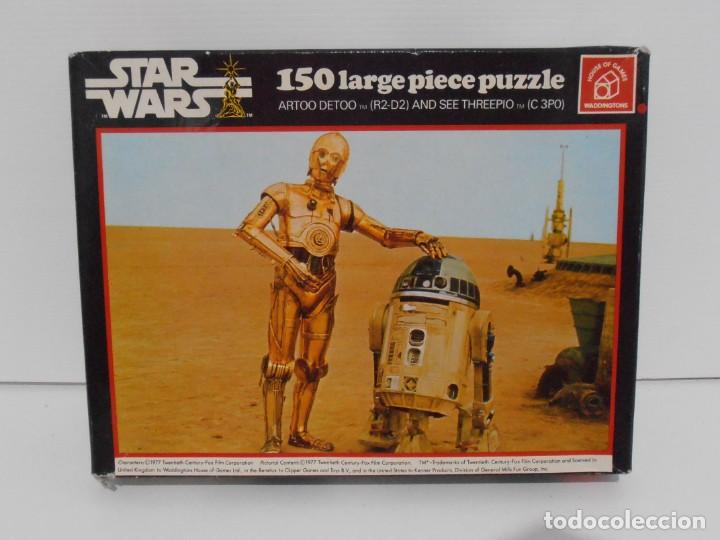 Puzzles: PUZZLE WADDINGTONS, STAR WARS, 150 PIEZAS, REF #179, MADE IN ENGLAND, COMPLETO 1977 - Foto 1 - 132281810