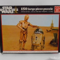 Puzzles: PUZZLE WADDINGTONS, STAR WARS, 150 PIEZAS, REF #179, MADE IN ENGLAND, COMPLETO 1977. Lote 132281810