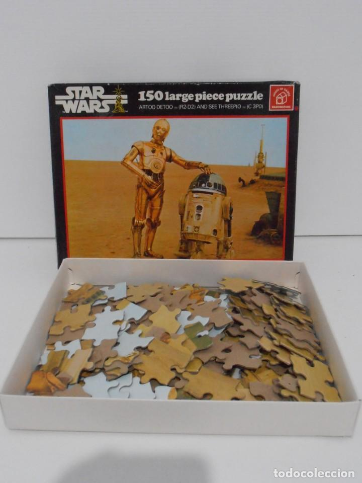 Puzzles: PUZZLE WADDINGTONS, STAR WARS, 150 PIEZAS, REF #179, MADE IN ENGLAND, COMPLETO 1977 - Foto 2 - 132281810