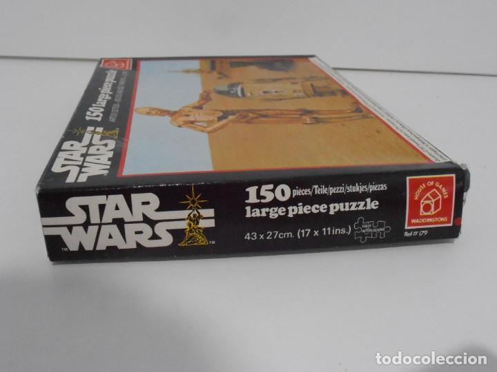 Puzzles: PUZZLE WADDINGTONS, STAR WARS, 150 PIEZAS, REF #179, MADE IN ENGLAND, COMPLETO 1977 - Foto 4 - 132281810
