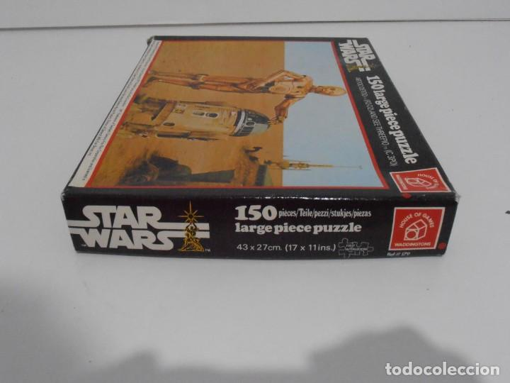 Puzzles: PUZZLE WADDINGTONS, STAR WARS, 150 PIEZAS, REF #179, MADE IN ENGLAND, COMPLETO 1977 - Foto 6 - 132281810