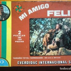 Puzzles: 2 PUZZLES MI AMIGO FÉLIX DE EVERDIDAC INTERNACIONAL S.A.. Lote 132510486