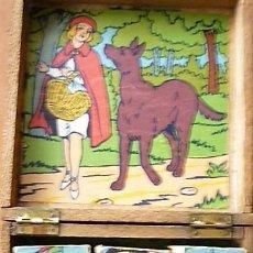 Puzzles: ANTIGUO PUZLE DE MADERA ESPAÑOL ORIGINAL CIRCA 1930 - 9 CUBOS . Lote 132594514