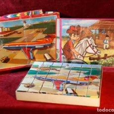 Puzzles: PUZZLE DE CUBOS.. Lote 132708990