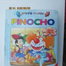 Puzzles: PINOCHO PUZZLE CUENTOS - CONTIENE 6 PUZZLES - LIBSA. . Lote 133347846