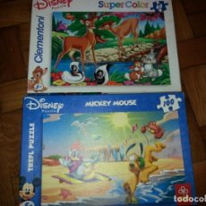 Puzzles: DOS PUZZLES. Lote 133673502