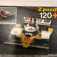 Puzzles: DOS PUZZLES 120 P BÓLIDO EDUCA AÑOS 80. Lote 133682698