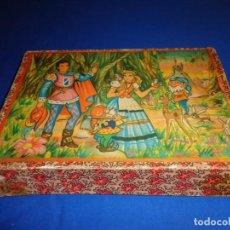 Puzzles: ANTIGUO ROMPECABEZAS, CUBOS DE CARTÓN, AÑOS 20 VER FOTOS Y DESCRIPCIÓN! SM. Lote 133683110