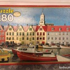 Puzzles: PUZZLE ANTIGUO ISLAS FEROE 280 P EDUCA 1982,. Lote 133683386