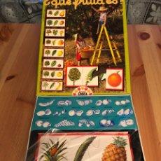 Puzzles: JUEGO ANTIGUO QUE FRUTA ES? PUZZLE EDUCA 1982. Lote 134954705