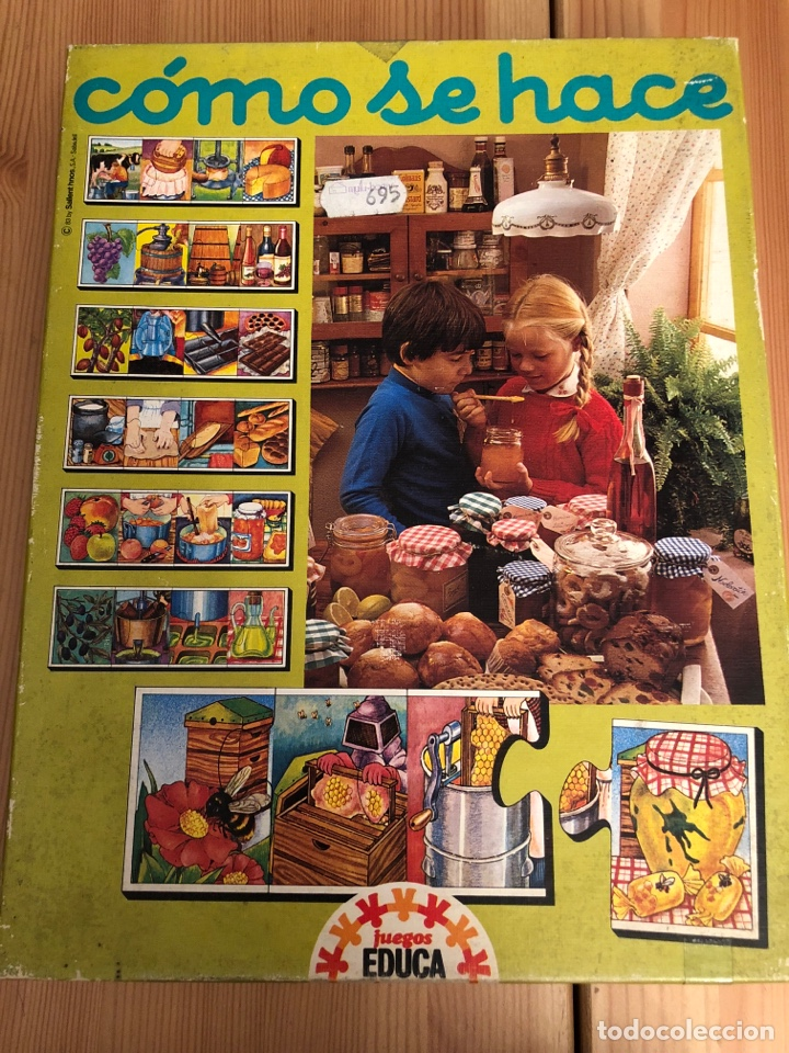 JUEGO ANTIGUO COMO SE HACE? PUZZLE EDUCA 1983,FEBER,CEFA,MATTEL,BORRAS,JUEGO DE MESA,RAVENSBURGUER (Juguetes - Juegos - Puzles)