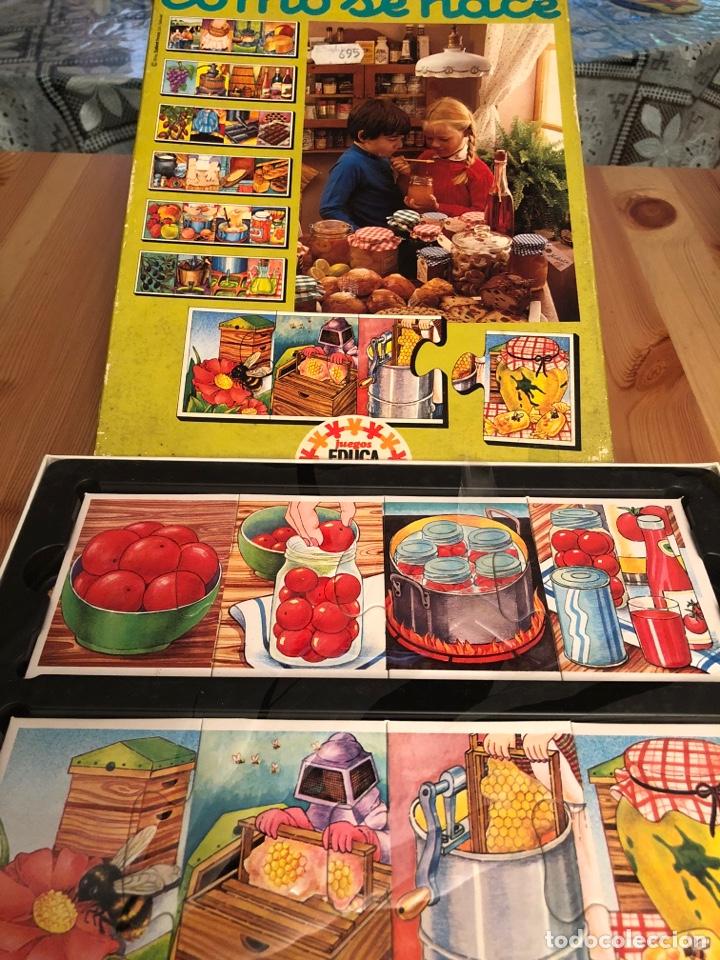 Puzzles: Juego antiguo Como se hace? Puzzle educa 1983,Feber,cefa,mattel,borras,juego de mesa,ravensburguer - Foto 2 - 134955003
