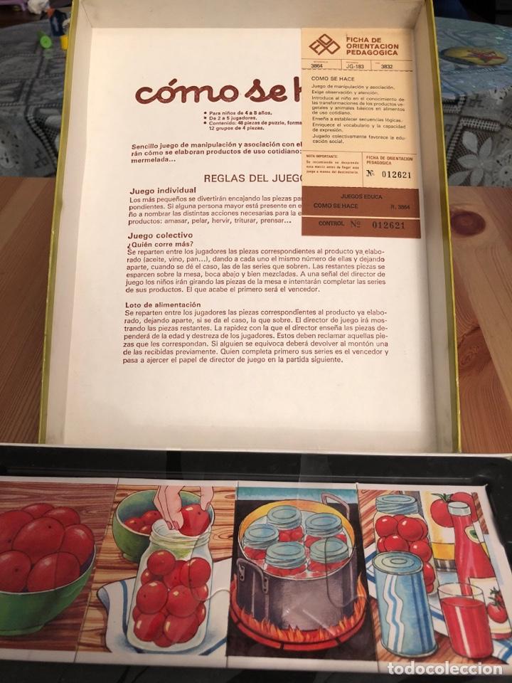 Puzzles: Juego antiguo Como se hace? Puzzle educa 1983,Feber,cefa,mattel,borras,juego de mesa,ravensburguer - Foto 3 - 134955003