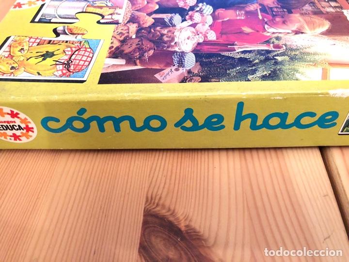 Puzzles: Juego antiguo Como se hace? Puzzle educa 1983,Feber,cefa,mattel,borras,juego de mesa,ravensburguer - Foto 5 - 134955003