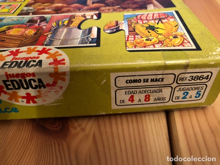 Puzzles: Juego antiguo Como se hace? Puzzle educa 1983,Feber,cefa,mattel,borras,juego de mesa,ravensburguer - Foto 7 - 134955003