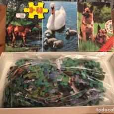 Puzzles: JUGUETE ANTIGUO PUZZLE YEGUA Y POTRO EDUCA 1982. Lote 134955261