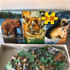Puzzles: 3 PUZZLES 3 X30 ELEFANTITO, EDUCA,AÑOS80. Lote 133775085