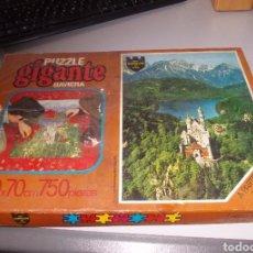 Puzzles: PUZZLE GIGANTE BAVIERA SERIE CASTILLOS DE EUROPA, EDUCA REF. 15.482, PRECINTADO, CAJA MAL ESTADO 750. Lote 135015206