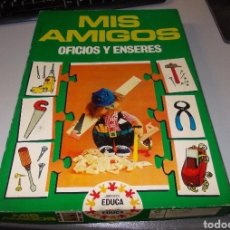 Puzzles: MIS AMIGOS OFICIOS Y ENSERES. EDUCA REF. 3.890, COMPLETO. Lote 135174235