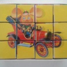 Puzzles: PUZZLE ANTIGUO CUBOS TOPO GIGIO. Lote 157384317