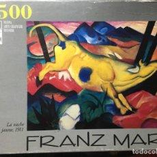Puzzles: PUZLE PUZZLE 1500 PIEZAS LA VACHE JAUNE, 1911 - FRANZ MARC - COMPLETO. Lote 135255614