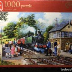 Puzzles: PUZLE PUZZLE 1000 PIEZAS ESTACION DE TREN - COMPLETO. Lote 135255814
