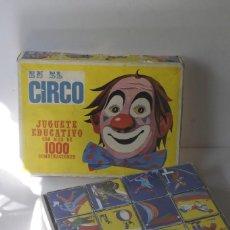 Puzzles: EN EL CIRCO ROMPECABEZAS DE CUBOS. Lote 135792594
