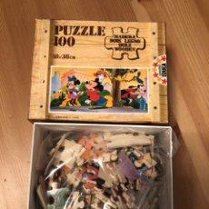 Puzzles: PUZZLE MADERA MICKEY MOUSE EDUCA 83 JUEGO ANTIGUO EGB. Lote 135955822