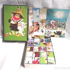 Puzzles: ROMPECABEZAS CUBOS DE FERRANDIZ AÑO 74 EDIGRAF, COMPLETO. Lote 136001574