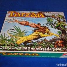 Puzzles: ROMPECABEZAS TARZAN, EN CUBOS DE PLÁSTICO AÑO 1979, COMO NUEVO Y COMPLETO VER FOTOS! SM. Lote 136305110