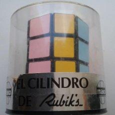 Puzzles: RUBIK CUBE CUBO RUBICK EL CILINDRO DE RUBIK'S MAKO MADE IN SPAIN AÑOS '80. Lote 137131166