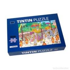 Puzzles: TINTIN PUZZLE 1000 PIEZAS LOS CIGARROS DEL FARAON (DESFILE ELEFANTES) CON POSTER 50X66,5CM (REF..... Lote 137719710