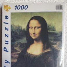 Puzzles: PARTY PUZZLE PUZLE CUADRO DE LA GIOCONDA NUEVO PRECINTADO 1000 PIEZAS.. Lote 137852122